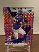 Justin Jefferson NFL Debut Pink Camo Mosaic Minnesota Vikings