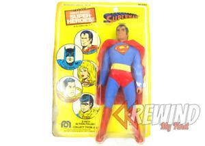SUPERMAN Mego World's Greatest Super Heroes, 1976 DC Comics Action Figure