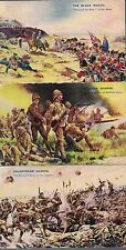 Corps & Regiments Printed Collectable Military Postcards