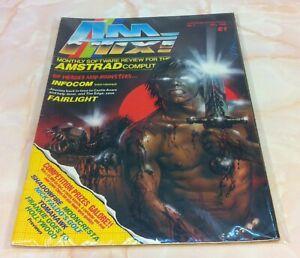 Amtix Amstrad Magazine 7 - May 1986 (VGC) Bagged