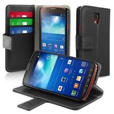 Custodie portafogli nero per Samsung Galaxy S4