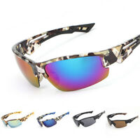 Men Fishing Sunglasses UV400 Protection Glasses Outdoor Driving Sports Eyewear
