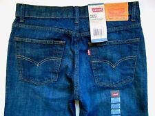 LEVI STRAUSS 569 DENIM BLUE JEANS PANTS Women 18 Size 30W X 29L Loose Straight