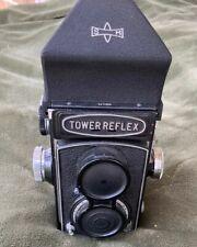 Vintage Tower Reflex TLR 120 Film Camera Walz  1:3.5  F 7.5 Cm Mamiya Eye Finder