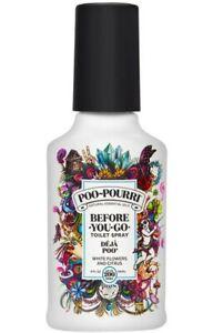 *1-Piece* Poo Pourri Before You Go Toilet Spray Deja Poo White Flower Citrus 4Oz