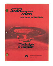 STAR TREK: TNG ORIGINAL SCRIPT - THE ENSIGNS OF COMMAND, BY MELINDA SNODGRASS