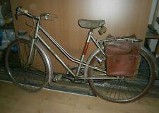 Ancien vélo ONOTO roues 650 gardes-boue martelés sacoches old bike bici época
