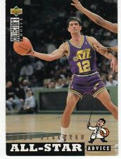 figurina CARD BASKET NBA 1993/94 NEW numero 196 JOHN STOCKTON