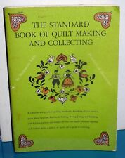 Standard Book of Quilt Making & Collecting Marguerite Ickis Dover 1959