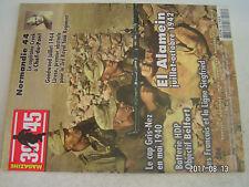 """**a2 39-45 Magazine n°206 El Alamein / Cpt Roy Creek Co """" E """" 507e régiment Para"""