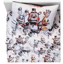 Disney's The Five Night At Freddy's Bedding Set Full Size Sheet Set New Kids 4Pc