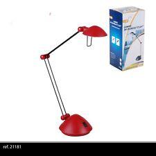 ROUGE ECLAIRAGE LAMPE A POSER DE BUREAU ARTICULE DESIGN ARCHITECTE industriel 11