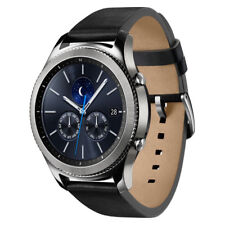 Samsung Gear S3 Classic - Black Leather Strap - Very Good Condition