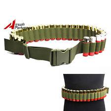 29 Shotgun Shell Bandolier Belt 12 20 Gauge Cartridge Ammo Holder Sling Olive D