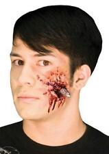 WOOCHIE BULLET HEAD GUN SHOT WOUND BLOODY PROSTHETIC COSTUME MAKEUP KIT CSEZ157