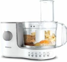 KENWOOD FP120 COMPACT FOOD PROCESSOR WHITE - WITH 10 DIFFERENT FUNCTIONS HOME UK