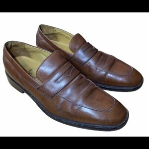 Cole Haan Leather Slip-On Penny Loafers Dress Shoe Size 10