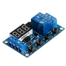 6-30V Relay Module Switch Trigger Time Delay Circuit Timer Cycle Adjustable