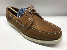 a5c983a2d1c Sebago Docksides Leather Women s Shoe B58058 Chocolate Leather Size 8