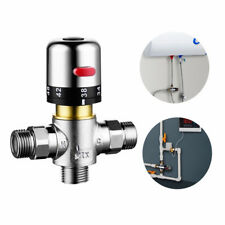 Water Control Mixing Temperature Thermostatic Valve Chrome Polish Tempcontrol
