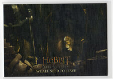 The Hobbit The Battle of the Five Armies - Base Card 19 Canvas Parallel 32/75