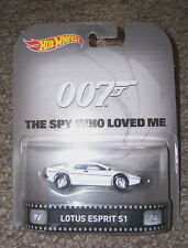 2015 Hot Wheels 007 JAMES BOND SPY LOTUS ESPRIT S1 HW Retro Entertainment Series