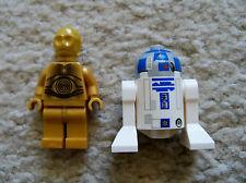 LEGO Star Wars Clone Wars - R2-D2 (Clone Wars Version) & C-3PO Minifigs