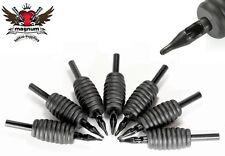 19mm 1.9cm STERILE MONOUSO SILICONE PRESA TIP Tatuaggio TUBI - Piatto rotondo