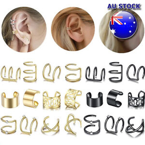 Wholesale Fake Helix Hoop Earrings Ear Cuff Cartilage Ring Clip On Non Piercing