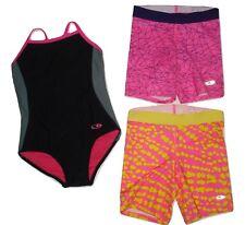 Champion Leotard Athletic Bike Shorts Lot sz 6/6X S 7/8 M Girls Gymnastics Dance