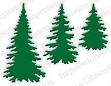 Evergreen Trees Set Steel Die for Scrapbooking (Die217E)