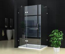 New Frameless shower screen NO base 8mm Glass 900X1200X1900 Very Popular