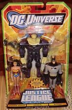 DC UNIVERSE JLU UNLIMITED  BATMAN,MONGUL,WONDER WOMAN - MATTY EXCLUSIVE