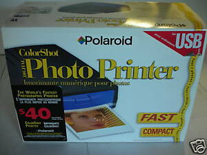 ColorShot Polaroid USB Portable Digital Photo Printer