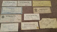 old checks 1920-1940 $$$ ships free$$$