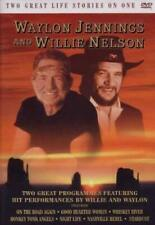 Waylon Jennings and Willie Nelson - Two Great Life Stories DVD ALL REGIONS PAL