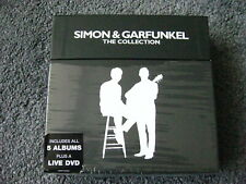 SIMON AND GARFUNKEL - The collection 5 cd 1 dvd box set never played.