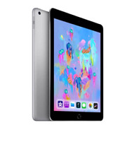 NEW Sealed Apple iPad 6th Gen 32GB, Wi-Fi + Cellular, 9.7in Space Grey Unlocked