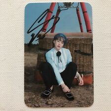 *RARE* BTS YOUNG FOREVER Taiwan Edition HANDSIGNED SUGA LIMITED ED PHOTOCARD