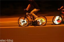 Full Color DIY Video/Picture Bicycle Bike Front/Back Wheel Light Flash Led Light
