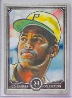 ROBERTO CLEMENTE 2020 TOPPS MUSEUM CANVAS COLLECTION CARD PITTSBURGH PIRATES MLB