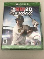 MLB RBI 20 Baseball Microsoft Xbox One Game New