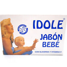 Idole Baby Soap Glycerin Vitamin E Savon Jabon de Bebe Glicerina Vitamina E