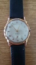 EXCELENT WRISTWATCH GOLD PLATED 38MM WORKING - EXCELENT CONDITION SWISS