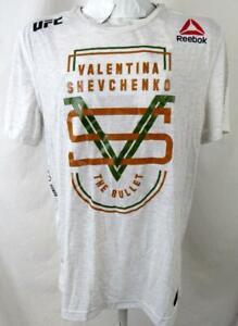 "UFC Mens X-Large Valentina ""THE BULLET"" Shevchenko ""VALUES"" T-shirt UFC 139"
