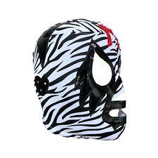 MIL MASCARAS (pro-fit) Lucha Libre Wrestling Mask Halloween Costume - Zebra prin