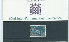 1975 Great Britain 62nd Inter-Parliamentary Conference Presentation Pack