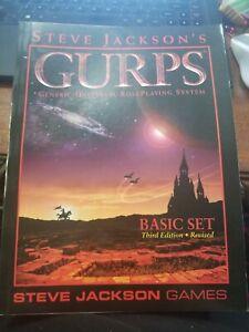 Steve Jacksons GURPS Basic Set 3rd Edition Revised