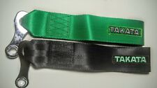 Takata Style Tow Straps JDM Japan Performance Track Racing Towing Drifting D1