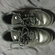 Nike Air Baseline Low Basketball Shoes Black White 386240-001 Size 13